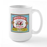 Vintage Syrup Label Large Mug
