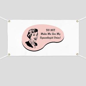 Gynecologist Voice Banner
