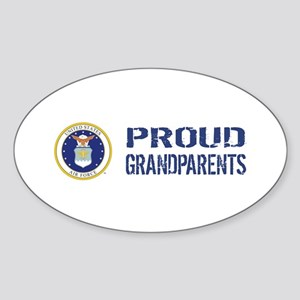 USAF: Proud Grandparents Sticker (Oval)