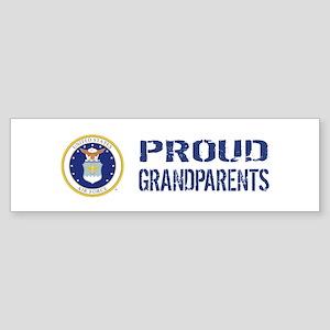 USAF: Proud Grandparents Sticker (Bumper)