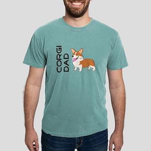 Red and white Corgi Dad T-Shirt