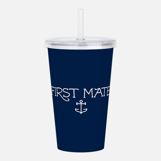 First Mate Acrylic Double-wall Tumbler