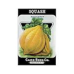 Vintage Seed/Produce Labels Rectangle Magnet (100