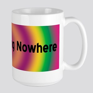 BOLDLY GOING NOWHERE Large Mug