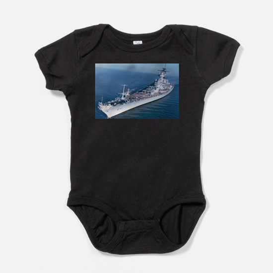 BB 64 Ships Image Baby Bodysuit