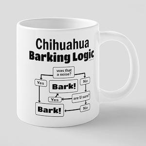 Chihuahua Logic Stainless Steel Travel Mugs