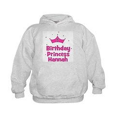 1st Birthday Princess Hannah! Hoodie