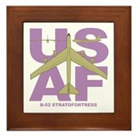 B-52 Framed Tile