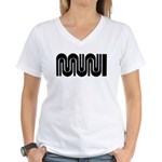 SF Muni Railway Women's V-Neck T-Shirt