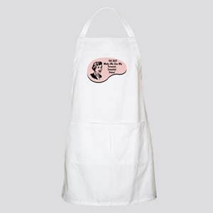 Forensic Scientist Voice BBQ Apron
