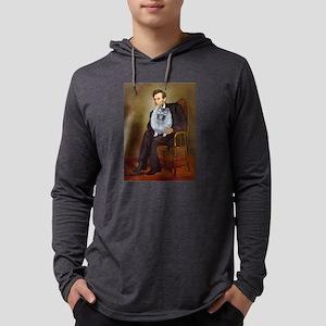 Lincoln / Keeshond (F) Long Sleeve T-Shirt