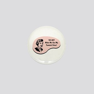 Feminist Voice Mini Button