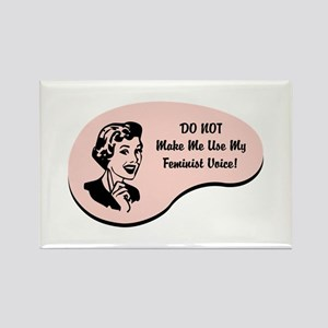 Feminist Voice Rectangle Magnet