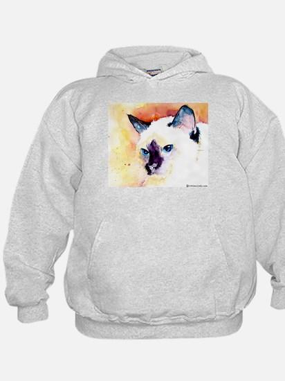 Siamese Cat Gifts Hoodie