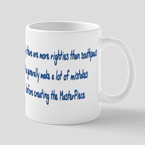 Lefty Masterpiece Mugs