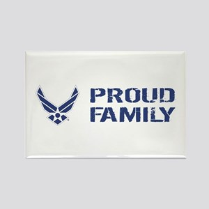 USAF: Proud Family Rectangle Magnet