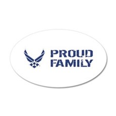 USAF: Proud Family Wall Decal
