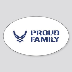USAF: Proud Family Sticker (Oval)