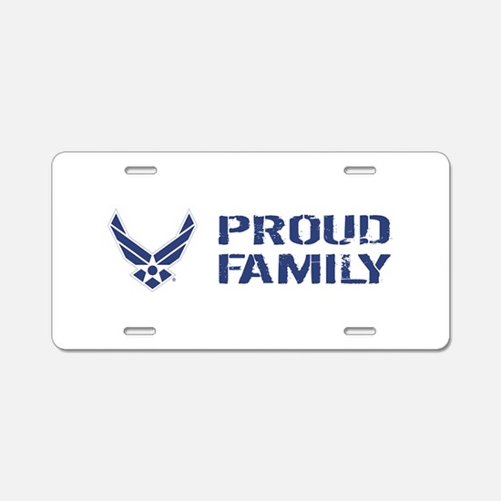 USAF: Proud Family Aluminum License Plate
