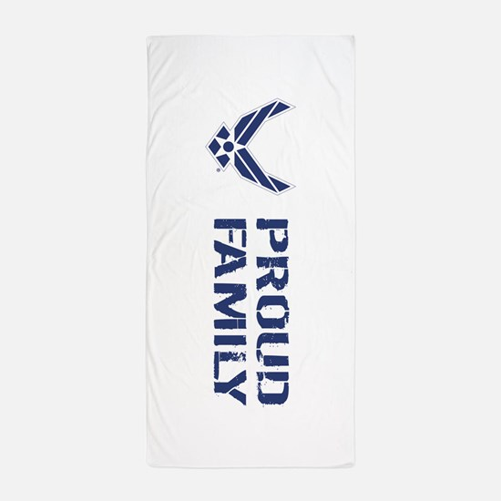 USAF: Proud Family Beach Towel
