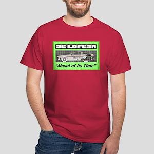 """DeLorean-Ahead of its Time"" Dark T-Shirt"