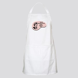Dental Hygienist Voice BBQ Apron