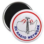 Rv Radio Network Logo Magnets