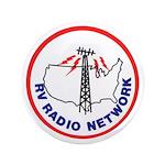 """Rv Radio Network Logo 3.5"""" Button"""