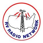 RV Radio Network Logo Round Car Magnet