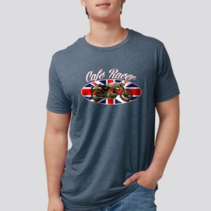Cafe Racer - British Flag Women's Dark T-Shirt