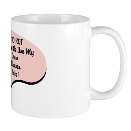 Crew Member Voice Mug