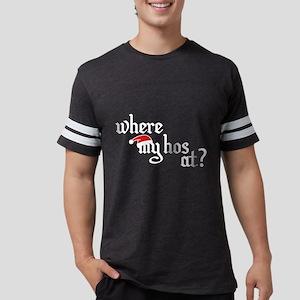 Where My Hos At? Women's Dark T-Shirt