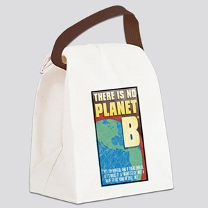 There is No Planet B Canvas Lunch Bag