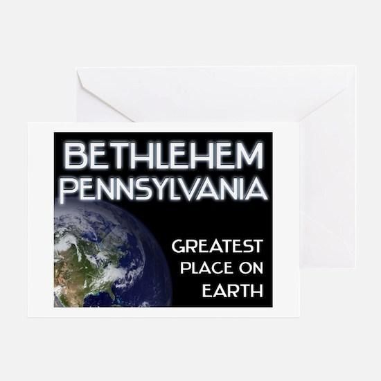 bethlehem pennsylvania - greatest place on earth G