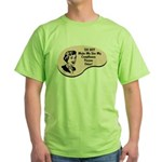Compliance Person Voice Green T-Shirt