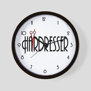 Hairdresser Wall Clock