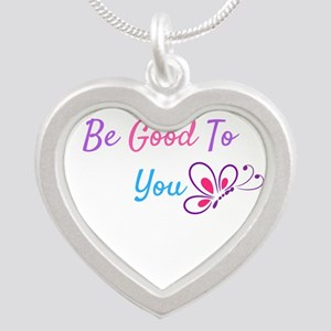 Be Good to You butterfly inspirational Necklaces