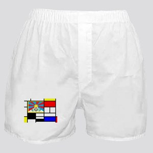Pop Art Tibet Flag Boxer Shorts