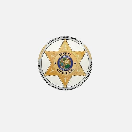 Florida Game Warden Mini Button