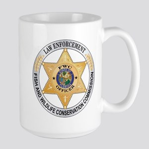 Florida Game Warden Large Mug