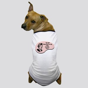 Cable Installer Voice Dog T-Shirt