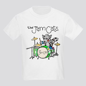 The Jam Cats 2 sided Kids Light T-Shirt