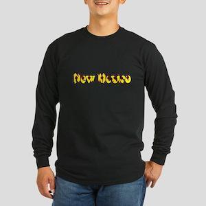 New Mexico Yellow Pattern 4Lea Long Sleeve T-Shirt