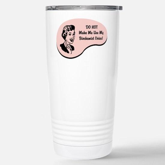 Biochemist Voice Stainless Steel Travel Mug