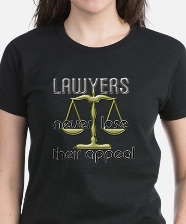 Lawyers Appeal Women's Dark T-Shirt