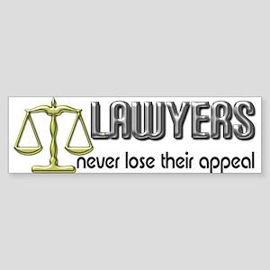 Lawyers Appeal Bumper Sticker