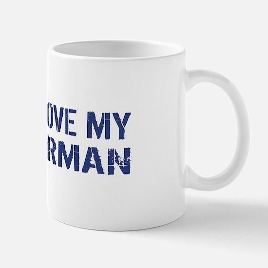 USAF: I Love My Airman Mug