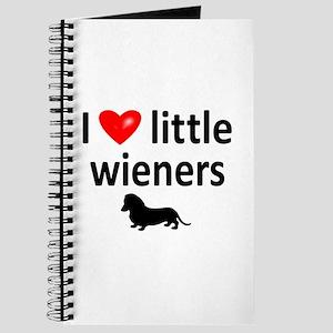 Love Little Wieners Journal