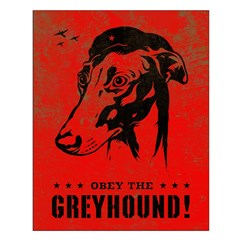 Obey the Greyhound! icon propaganda Poster