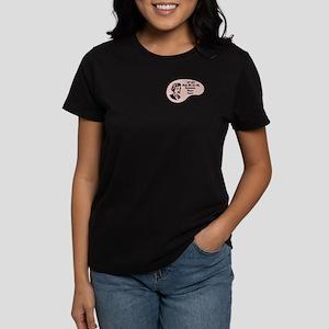 Badminton Player Voice Women's Dark T-Shirt